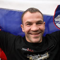 20091213: Boxing - Dejan Zavec - Jan Zaveck - IBF Welterweight World Champion, Reception in Slovenia