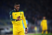 Oliver Ntcham of Celtic gestures during the UEFA Europa League, Group E football match between SS Lazio and Celtic FC on November 7, 2019 at Stadio Olimpico in Rome, Italy - Photo Federico Proietti / ProSportsImages / DPPI