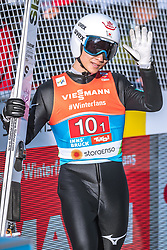 24.02.2019, Bergiselschanze, Innsbruck, AUT, FIS Weltmeisterschaften Ski Nordisch, Seefeld 2019, Skisprung, Herren, Teambewerb, Wertungssprung, im Bild Yukiya Sato (JPN) // Yukiya Sato of Japan during the competition jump for the men's skijumping Team competition of FIS Nordic Ski World Championships 2019 at the Bergiselschanze in Innsbruck, Austria on 2019/02/24. EXPA Pictures © 2019, PhotoCredit: EXPA/ Dominik Angerer