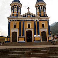 Iglesia San Bartolomé del Cobre, Estado Tachira, Venezuela.
