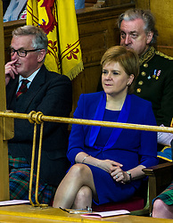 Pictured: Nicola Sturgeon was an interested guest at the opening of the General Assembly<br /> <br /> The 2018 General Assembly of the Church of Scotland begins.This year's annual gathering runs until Friday May 25<br /> <br /> Ger Harley | EEm 19 May 2018