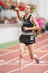 Boston University Multi-team indoor track & field meet, 5000m American record