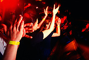© Naki Kouyioumtzis/ PYMCA<br />Crowd at Evilfest gig @ Mean Fiddler, London