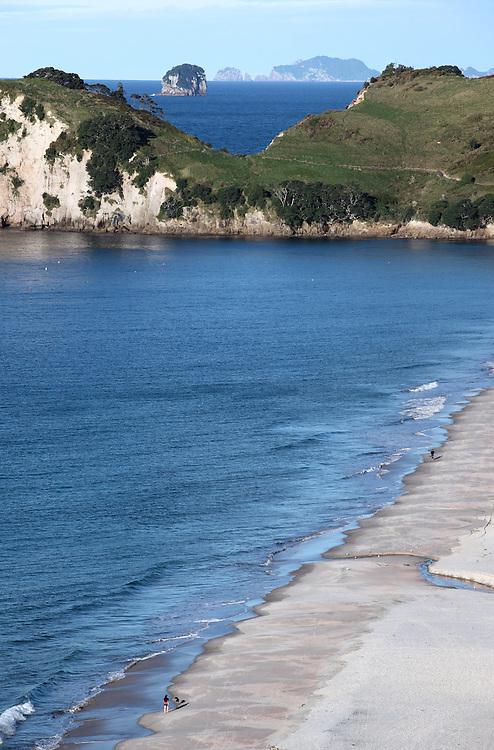Hahei Beach on the Coromandel Peninsula.