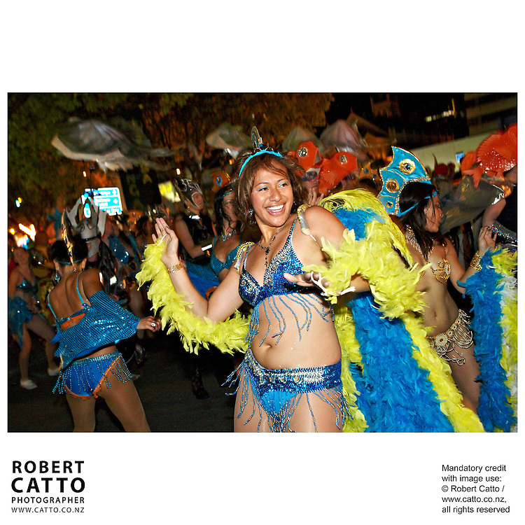 The Cuba St Carnival is Wellington's largest free outdoor event, and includes a huge night parade through the central city drawing an audience in the tens of thousands.