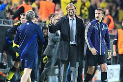 13.09.2011, Signal Iduna Park, Dortmund, GER, UEFA CL, Gruppe F, Borussia Dortmund (GER) vs Arsenal London (ENG), im Bild.Jürgen Klopp (Trainer Dortmund) straht nach dem Ende 1:1 ..// during the UEFA CL, group F, Borussia Dortmund (GER) vs Arsenal London on 2011/09/13, at Signal Iduna Park, Dortmund, Germany. EXPA Pictures © 2011, PhotoCredit: EXPA/ nph/  Mueller       ****** out of GER / CRO  / BEL ******