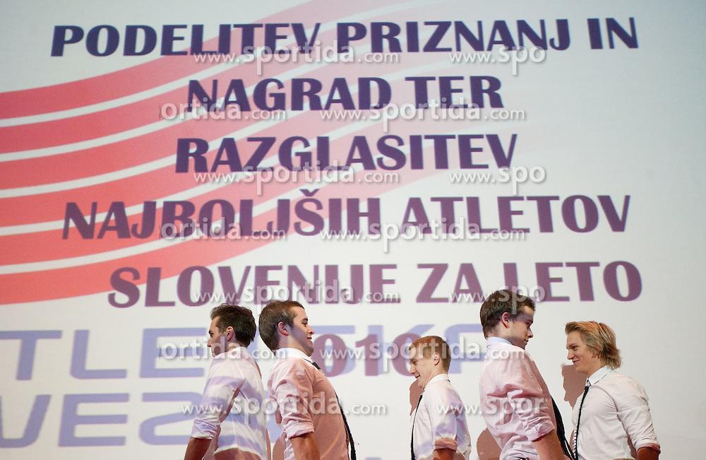 Maestro performs during the Slovenia's Athlete of the year award ceremony by Slovenian Athletics Federation AZS, on November 12, 2008 in Hotel Mons, Ljubljana, Slovenia.(Photo By Vid Ponikvar / Sportida.com) , on November 12, 2010.