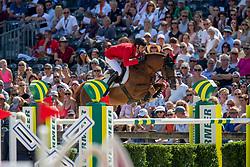 DEUSSER Daniel (GER), SCUDERIA 1918 TOBAGO Z<br /> Rotterdam - Europameisterschaft Dressur, Springen und Para-Dressur 2019<br /> Longines FEI Jumping European Championship - Part 3<br /> Individual Jumping 1st round<br /> Einzelfinale Runde A<br /> 25. August 2019<br /> © www.sportfotos-lafrentz.de/Stefan Lafrentz