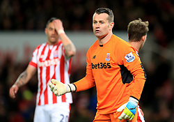 Shay Given of Stoke City  - Mandatory by-line: Matt McNulty/JMP - 18/04/2016 - FOOTBALL - Britannia Stadium - Stoke, England - Stoke City v Tottenham Hotspur - Barclays Premier League