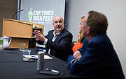 U.S. Rep. Mark Pocan speaks during the Cap Times Idea Fest 2018 at the Pyle Center in Madison, Wisconsin, Saturday, Sept. 29, 2018.