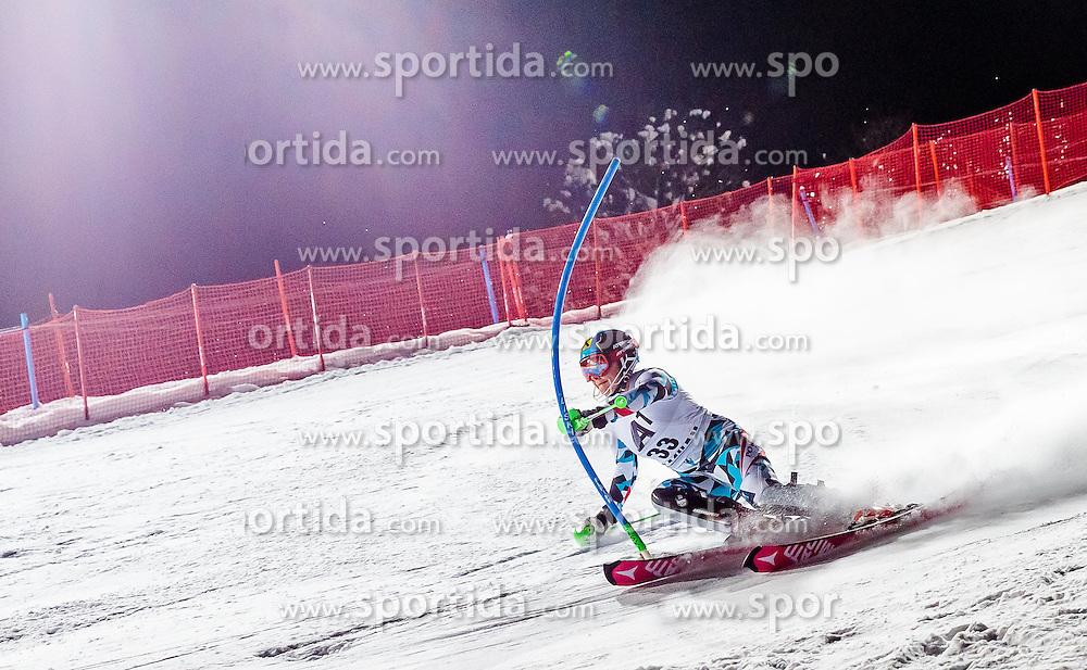 10.01.2017, Hermann Maier Weltcupstrecke, Flachau, AUT, FIS Weltcup Ski Alpin, Flachau, Slalom, Damen, 1. Lauf, im Bild Katharina Gallhuber (AUT) // Katharina Gallhuber of Austria in action during her 1st run of ladie's Slalom of FIS ski alpine world cup at the Hermann Maier Weltcupstrecke in Flachau, Austria on 2017/01/10. EXPA Pictures © 2017, PhotoCredit: EXPA/ Johann Groder