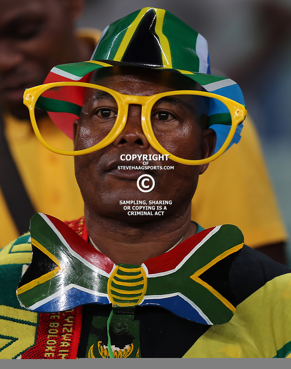 General views of fans during the 2018 Football World Cup qualifier  match between South Africa (Bafana Bafana)  and Cape Verde Islands,at the Moses Mabhida Stadium in Durban South Africa Tuesday, September 5,2017.  (Photo by Steve Haag)
