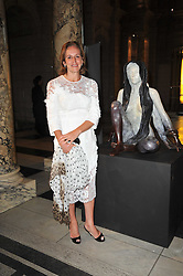 CAROLINE MICHEL at a private view of a new collection of bronzes and original paintings by artist Jonathan Wylder and his muse Jennifer Wade held at the V&A Museum, London on 27th April 2011.