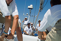 Crew on Yacht