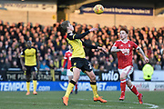Burton Albion midfielder Martin Samuelsen (20) controls the ball during the EFL Sky Bet Championship match between Burton Albion and Nottingham Forest at the Pirelli Stadium, Burton upon Trent, England on 17 February 2018. Picture by Richard Holmes.