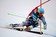 06 MAR 2013: Coley Oliver of the University of New Hampshire competes in the Men's Giant Slalom during the 2013 NCAA Men and Women's Division I Skiing Championship held at Middlebury Snowbowl in Middlebury, VT. Nordbotten placed first to win the national title. Brett Wilhelm