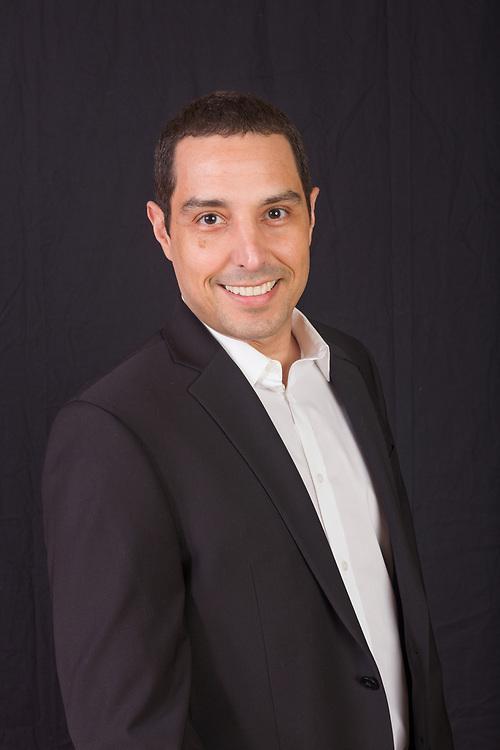Portrait of Marcelo Silvo for Goldstein, Garber and Salama dental practice, January 24, 2018