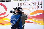 An official photographer at the annual Nagoya Dance Festival, known as Domatsuri in Japanese