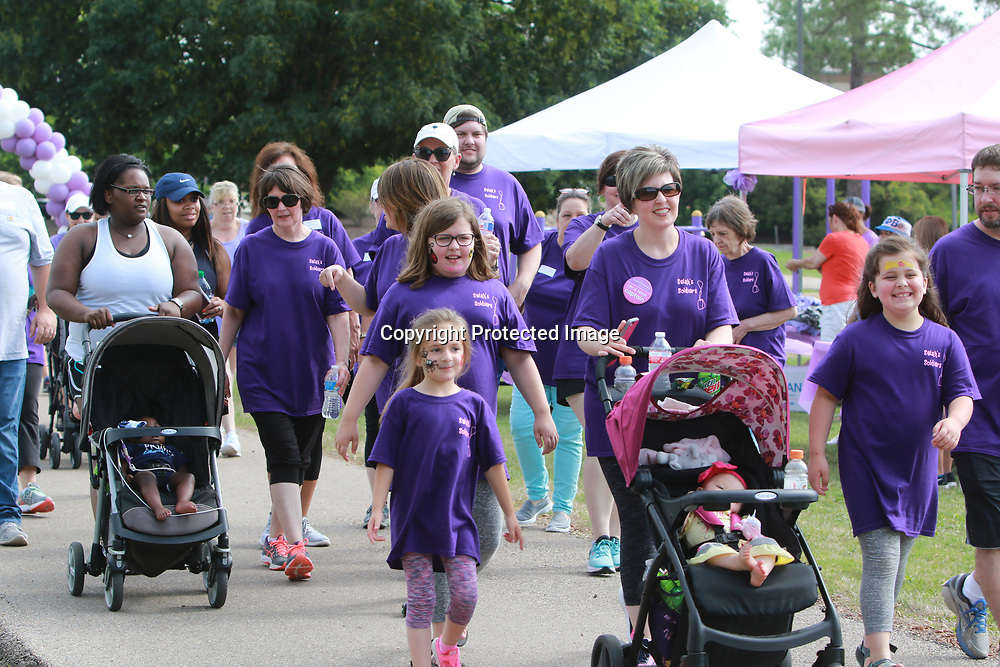 LIBBY EZELL | BUY AT PHOTOS.DJOURNAL.COM<br /> Many people formed teams to show support for a loved one or family friend for Saturday's March of Dimes