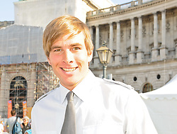 24.09.2011, Heldenplatz, Wien, AUT, Tag des Sports, im Bild Benjamin Karl vor der Hofburg am Tag des Sports // during the Tag des Sports, at Heldenplatz, Vienna, 2011-09-24, EXPA Pictures © 2011, PhotoCredit: EXPA/ M. Gruber