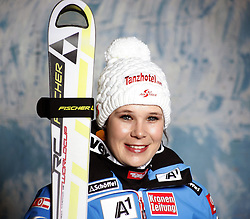 20.10.2012, Messehalle, Innsbruck, AUT, OeSV, Ski Alpin, Fototermin, im Bild Stefanie Moser (OeSV, Skirennlaeuferin) // during the official Portrait and Teamshooting of the Austrian Ski Federation (OeSV) at the Messehalle, Innsbruck, Austria on 2012/10/20. EXPA Pictures © 2012, PhotoCredit: EXPA/ OeSV/ Erich Spiess