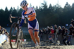 12-01-2014 WIELRENNEN: STANNAH NK CYCLOCROSS: GASSELTE<br /> Thalita de Jong<br /> &copy;2014-FotoHoogendoorn.nl