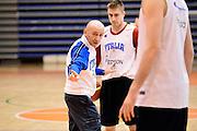 Biella, 15/12/2012<br /> Basket, All Star Game 2012<br /> Allenamento Nazionale Italiana Maschile <br /> Nella foto: Luca Dalmonte<br /> Foto Ciamillo
