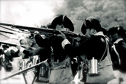 Slide 15 - Muskets, were the weapon of choice for the infantry. It took a soldier several minutes to reload, aim and fire.