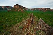 Chapada dos Guimaraes_MT, Brasil...Imagens do Parque Nacional da Chapada dos Guimaraes no Estado do Mato Grosso. Na foto Crista de Galo no Vale do Rio Claro...The Chapada dos Guimaraes National Park  is a national park in the Brazilian state of Mato Grosso. In this photo Crista de Galo in the Vale do Rio Claro...Foto: JOAO MARCOS ROSA  / NITRO..
