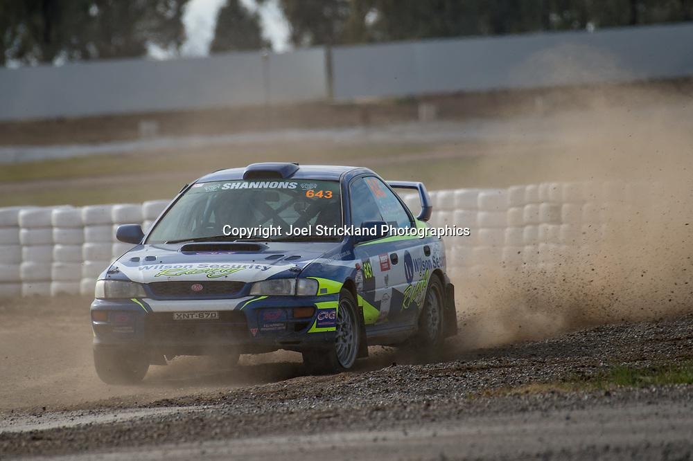 Aaron Bowering - Subaru WRX - Rallycross Australia - Winton Raceway - 16th July 2017