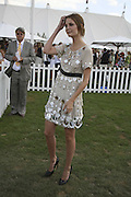 Mischa Barton, Cartier International Polo. Guards Polo Club. Windsor Great Park. 30 July 2006. ONE TIME USE ONLY - DO NOT ARCHIVE  © Copyright Photograph by Dafydd Jones 66 Stockwell Park Rd. London SW9 0DA Tel 020 7733 0108 www.dafjones.com