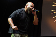 Maseo of De La Soul performs during the Summer Spirit Festival at Merriweather Post Pavilion in Columbia, Md on Saturday, August 5, 2017.