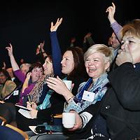 Nederland, Rotterdam , 28 januari 2011..De Nationale Kansdenkdag organiseert landelijk inspirerende Kansdenkdagen vanuit het concept Kansdenken. Op uw verzoek organiseren wij zelfs uw eigen incompany Kansdenkdag! De Nationale Kansdenkdag is een initiatief van Svelar Vitaal..Op de foto het luisterend publiek.Foto:Jean-Pierre Jans