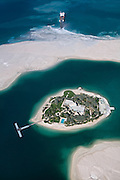 One of the islands in The World development off the coast of Dubai