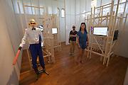 """13th Biennale of Architecture..Giardini..Corea Pavillion..""""Walk in Architecture""""."""