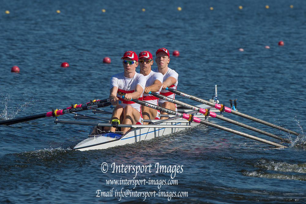 Rotterdam. Netherlands. 2016 JWRC, AUT JM4X, Three in the boat. {WRCH2016}  at the Willem-Alexander Baan.   Wednesday  24/08/2016 <br /> <br /> [Mandatory Credit; Peter SPURRIER/Intersport Images]