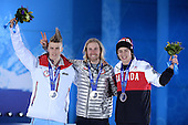 Snowboard Slopestyle, Mens - Medal Ceremony