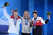 Snowboard Slopestyle, Mens - Medal Ceremony