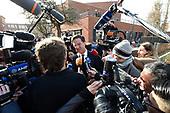 VVD-leider Mark Rutte brengt zijn stem uit