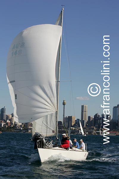 SAILING - BMW Winter Series 2004/ Sydney  (AUS) - JAGGED EDGE - 4/07/04 - Photo: Andrea Francolini