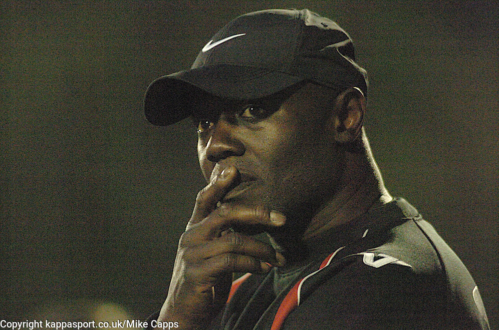 MORRELL MAISON MANAGER KETTERING TOWN 2011Kettering Town v Southampton, Pre Season Friendly, Thursday 28th July 2011
