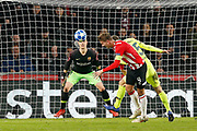 PSV player Luuk de Jong during the UEFA Champions League, Group B football match between PSV Eindhoven and FC Barcelona on November 28, 2018 at Philips Stadium in Eindhoven, Netherlands - Photo Thomas Bakker / Pro Shots / ProSportsImages / DPPI