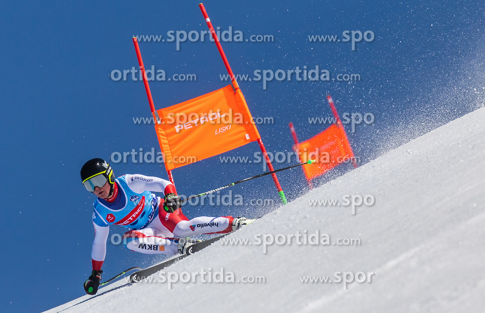 Meyer Daniel from Switzerland during the downhill of Open National Championship of Slovenia 2019, on March 30, 2019, on Krvavec, Slovenia. Photo by Urban Meglic / Sportida