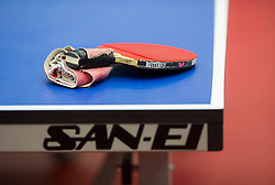 Racket during Day 1 of 15th Slovenia Open - Thermana Lasko 2018 Table Tennis for the Disabled, on May 9, 2018, in Dvorana Tri Lilije, Lasko, Slovenia. Photo by Vid Ponikvar / Sportida