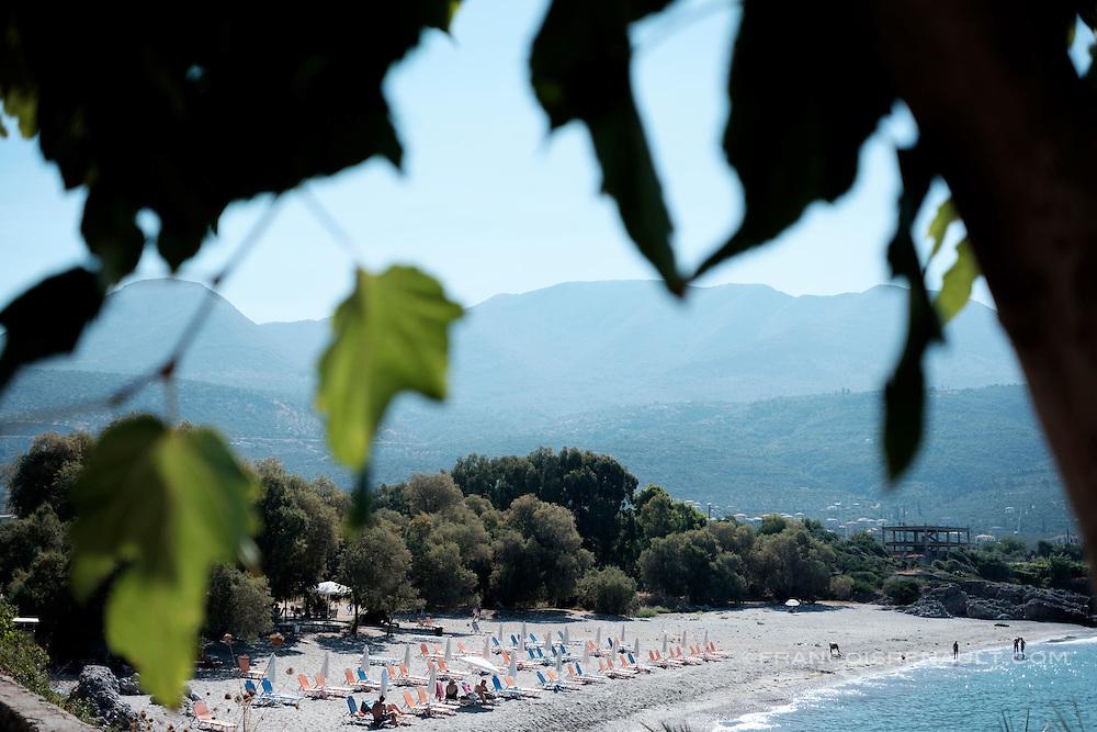 Pantazi Beach, Péloponnèse, Grèce.