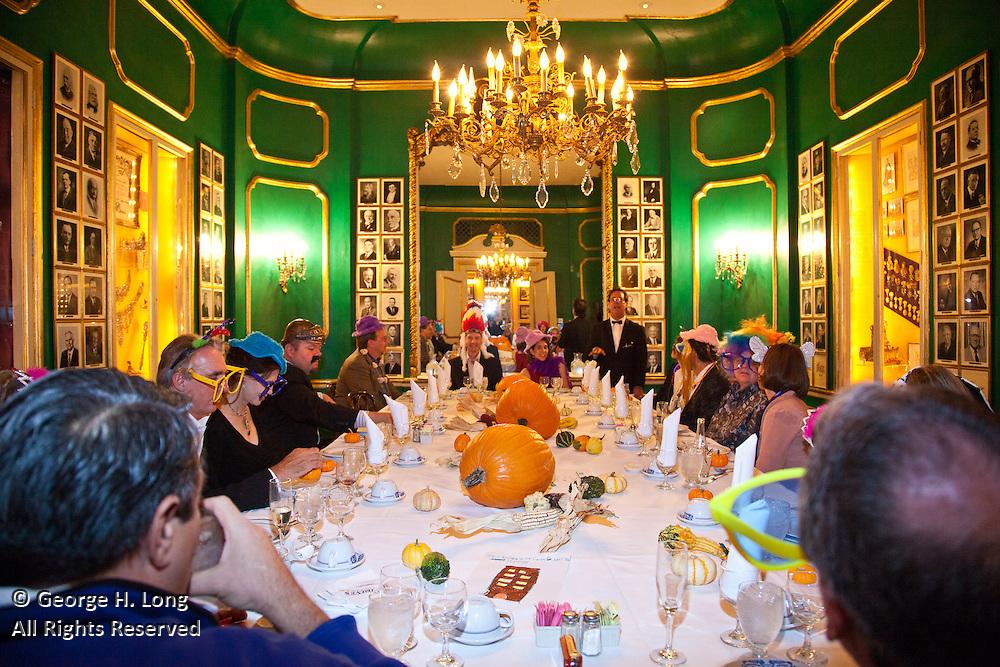 10th anniversary of Kim and Franz Field's wedding; Antoine's Restaurant