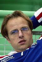 Skøyter, 9-10. november 2002. Verdenscupåpning, Vikingskipet,  Jac Orie, nederlandsk trener.