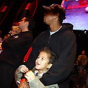 Panna wedstrijd Arena, Patrick Kluivert en zoon Quincy