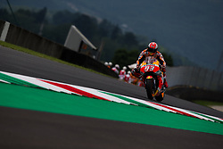 June 1, 2018 - Mugello, FI, Italy - Marc Marquez of Repsol Honda Team during the Free Practice 1 of the Oakley Grand Prix of Italy, at International  Circuit of Mugello, on June 01, 2018 in Mugello, Italy  (Credit Image: © Danilo Di Giovanni/NurPhoto via ZUMA Press)