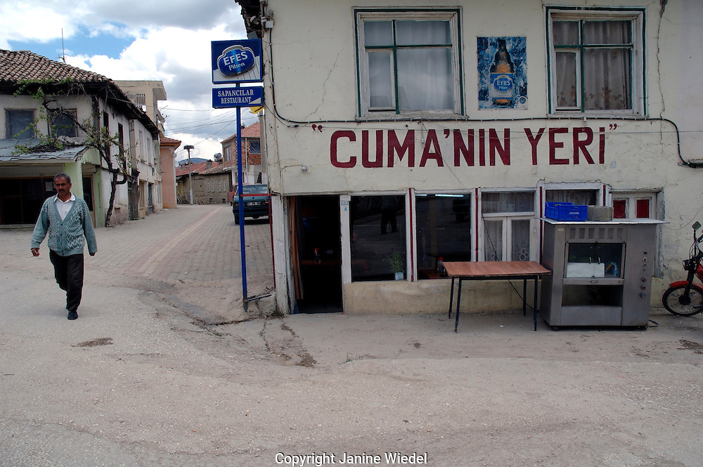 Small village on the road betweem Gombe and Eymir in Anatalya southern Turkey.